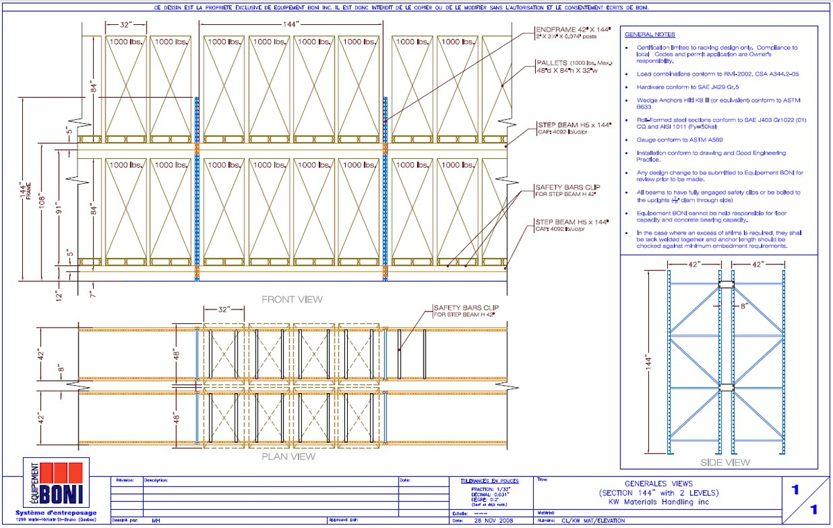 Racking Elevation Plan In House 3d Drawings